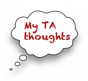 Teaching Assistant Course thoughts