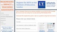 MITA programme Oct 2014