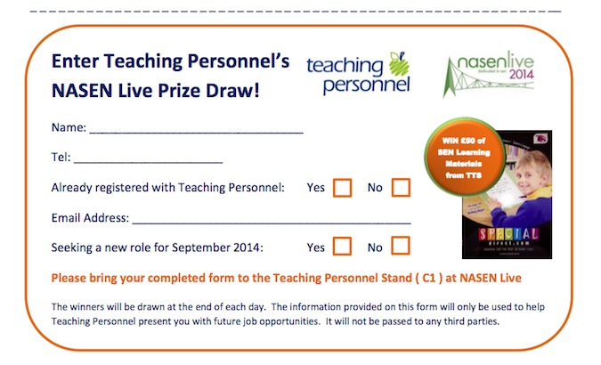 nasen Live 2014 Teaching Personnel