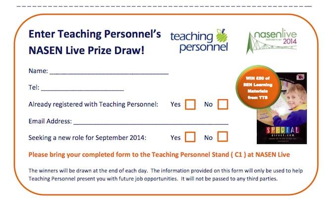 nasen Live 2014 Teaching Personnel