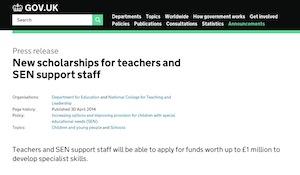 National Scholarship Fund 2014